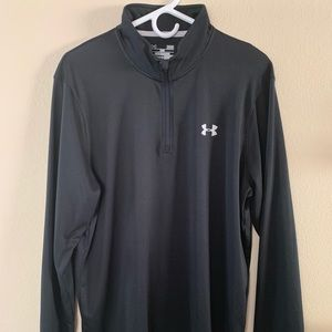 Black sportswear under armour